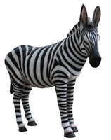 Zebra Life Size Statue - LM Treasures Life Size Statues & Prop Rental