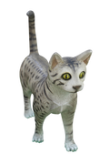 Cat Egyptian Mau Animal Display Resin Prop Decor Statue - LM Treasures Life Size Statues & Prop Rental