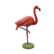 Bird Flamingo Head Up Animal Prop Life Size Resin Statue - LM Treasures Life Size Statues & Prop Rental