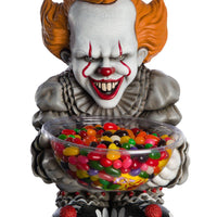 Candy Bowl Holder Halloween IT Pennywise Half Foam Licensed Statue - LM Treasures Life Size Statues & Prop Rental