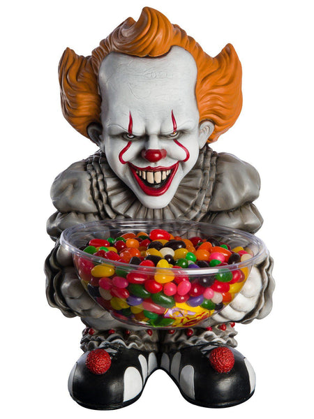 Candy Bowl Holder Halloween IT Pennywise Half Foam Licensed Statue - LM Treasures