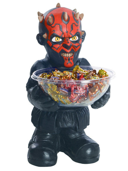 Candy Bowl Holder Star Wars Darth Maul Half Foam Licensed Statue - LM Treasures