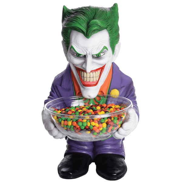 Candy Bowl Holder DC Joker Half Foam Licensed Statue - LM Treasures