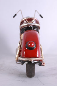 "Motorcycle American 10"" Table Top Resin Prop Statue - LM Treasures Life Size Statues & Prop Rental"