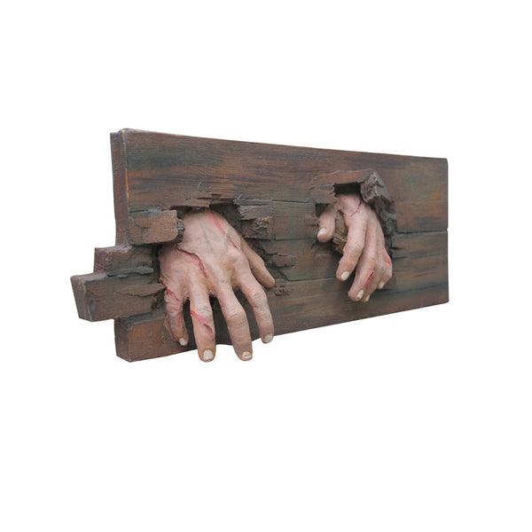 Wall Decor Wooden Creepy Hands - LM Treasures Life Size Statues & Prop Rental