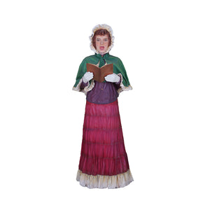 Caroler Mother With Book - LM Treasures