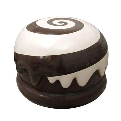 Chocolate Candy Truffle Mallow Big Brown Over sized Display Resin Prop Decor Statue - LM Treasures Life Size Statues & Prop Rental