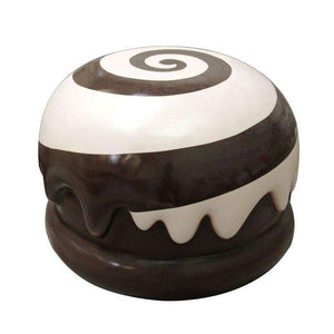 Brown Mallow Chocolate Truffle Over Sized Statue - LM Treasures Life Size Statues & Prop Rental