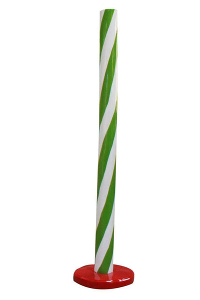 Green Candy Stick Over Sized Statue - LM Treasures Life Size Statues & Prop Rental