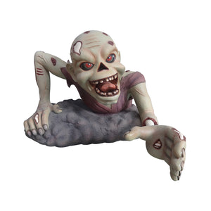 Zombie Crawling - LM Treasures Life Size Statues & Prop Rental