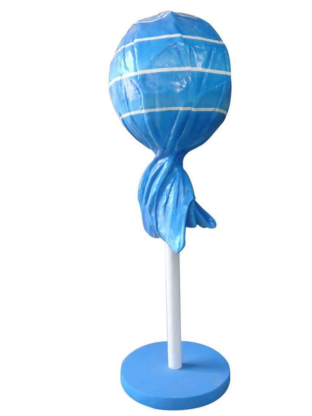 Blue Lollipop Over Sized Statue - LM Treasures Life Size Statues & Prop Rental