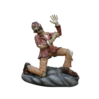 Photo Op Zombie - LM Treasures Life Size Statues & Prop Rental
