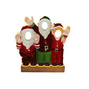 Photo Op Elves Happy (Light Up) - LM Treasures Life Size Statues & Prop Rental