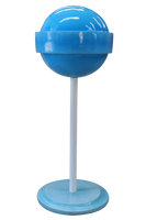 Blue Sugar Pop Over Sized Statue - LM Treasures Life Size Statues & Prop Rental