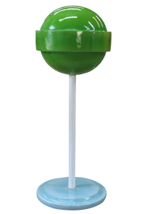 Green Sugar Pop Over Sized Statue - LM Treasures Life Size Statues & Prop Rental