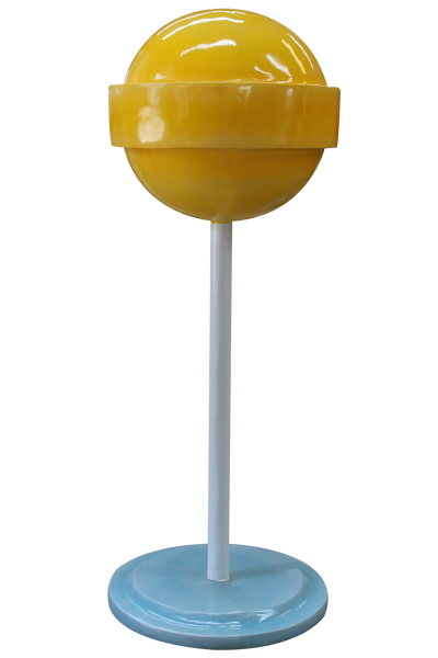 Yellow Sugar Pop Over Sized Statue - LM Treasures Life Size Statues & Prop Rental