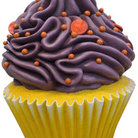 Purple Frosting Vanilla Cupcake Over Sized Statue - LM Treasures Life Size Statues & Prop Rental