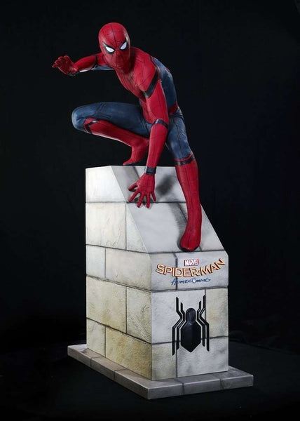 Spider Man From Home Coming Life Size Statue - LM Treasures Life Size Statues & Prop Rental