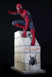 Spider Man From Home Coming Life Size Statue - LM Treasures