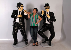 Comedians Performing Life Size Statue - LM Treasures