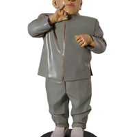Baldy Mini Me Austin Powers Small Statue - LM Treasures Life Size Statues & Prop Rental