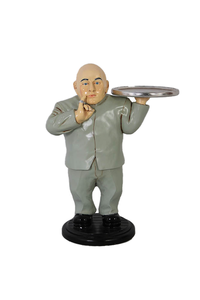 Baldy Mini Me Butler Austin Powers Small Statue - LM Treasures Life Size Statues & Prop Rental