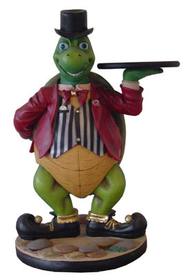 Turtle Butler Life Size Statue - LM Treasures Life Size Statues & Prop Rental