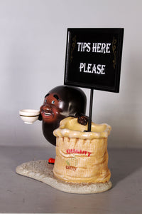 Coffee Bean Bag Over Sized Statue - LM Treasures Life Size Statues & Prop Rental