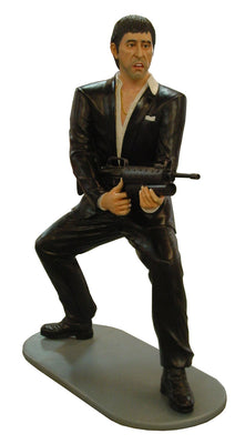 Celebrity Al Pacino Gangster 6ft Movie Hollywood Prop Decor Statue - LM Treasures Life Size Statues & Prop Rental