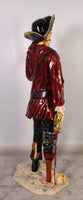Pirate Skeleton With Gun Life Size Statue - LM Treasures