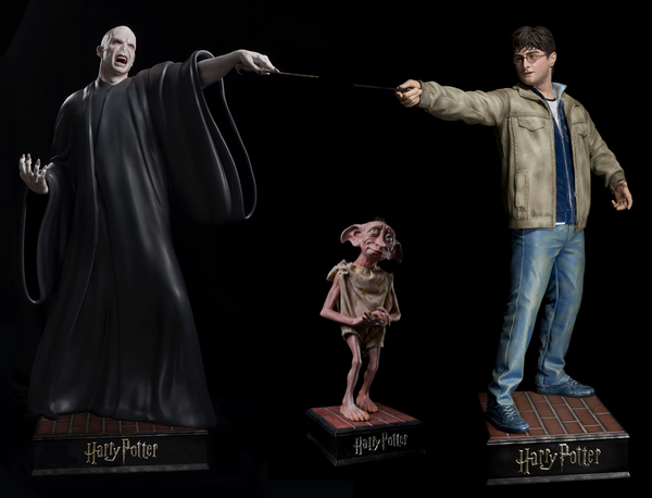 Harry Potter Life Size Statues (Set of 3) - LM Treasures