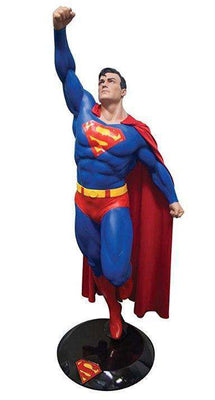 Superman Flying Life Size Statue (8'6