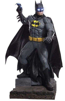 New Batman Life Size Statues Light Up DC Comic Rubie's - LM Treasures Life Size Statues & Prop Rental