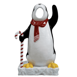 Photo Op Penguin Arctic - LM Treasures Life Size Statues & Prop Rental