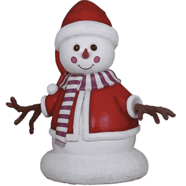 Snowman Cute Jane - LM Treasures Life Size Statues & Prop Rental