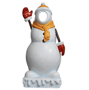 Photo Op Snowman Small - LM Treasures Life Size Statues & Prop Rental