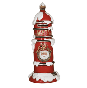 Mailbox North Pole - LM Treasures Life Size Statues & Prop Rental