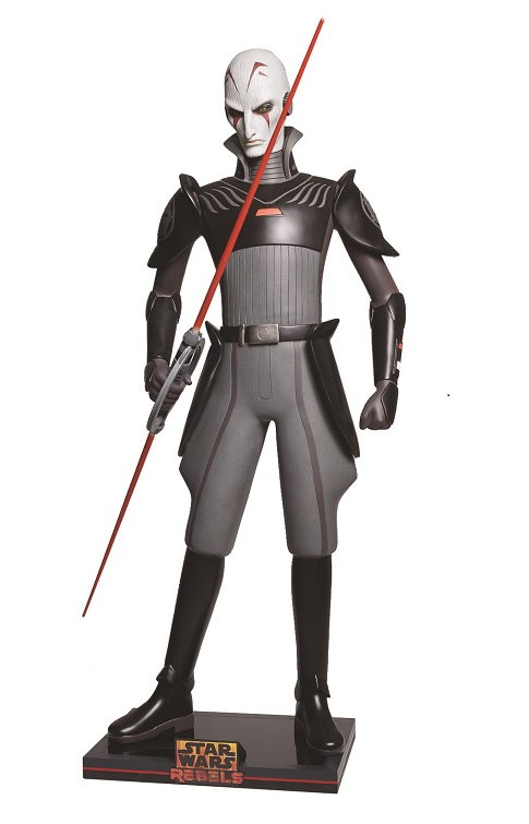 Star Wars Rebels Inquisitor Life Size Statue Rare - LM Treasures Life Size Statues & Prop Rental