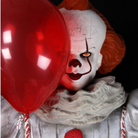 IT Pennywise Life Size Statue Foam Replica NECA - Coming Soon in February - LM Treasures Life Size Statues & Prop Rental