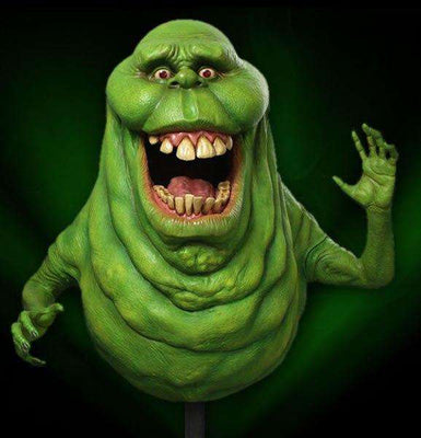 Ghost Buster Life Size Slimer Limited Edition Resin With Stand - LM Treasures Life Size Statues & Prop Rental