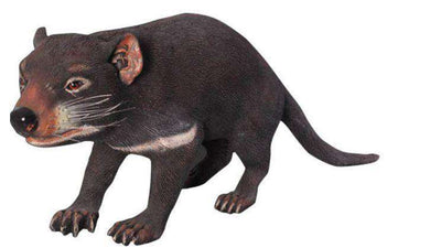 Rodent Tasmanian Devil Animal Prop Resin Decor Statue- LM Treasures