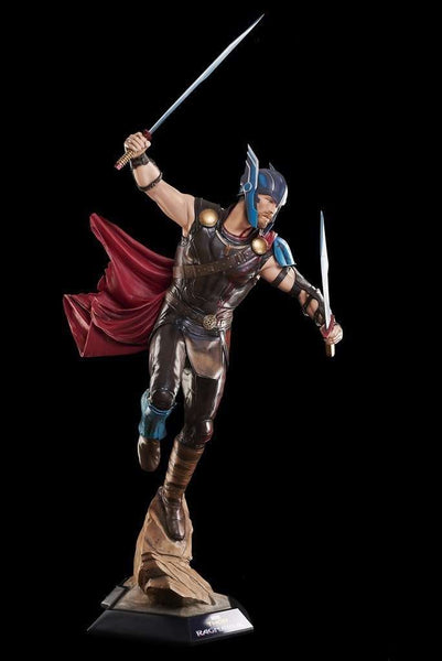 Thor Ragnarok - Life Size Thor Statue - LM Treasures Life Size Statues & Prop Rental