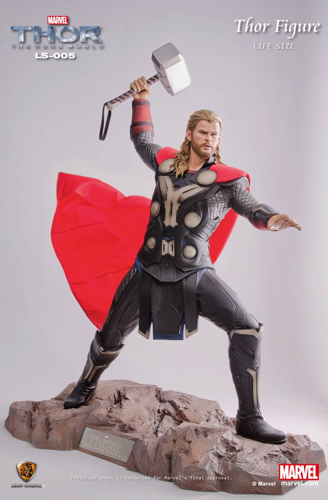 THOR : The Dark World Life Size Statue - LM Treasures
