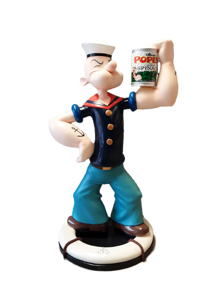 Sailor Guy With Spinach Life Size Statue - LM Treasures Life Size Statues & Prop Rental