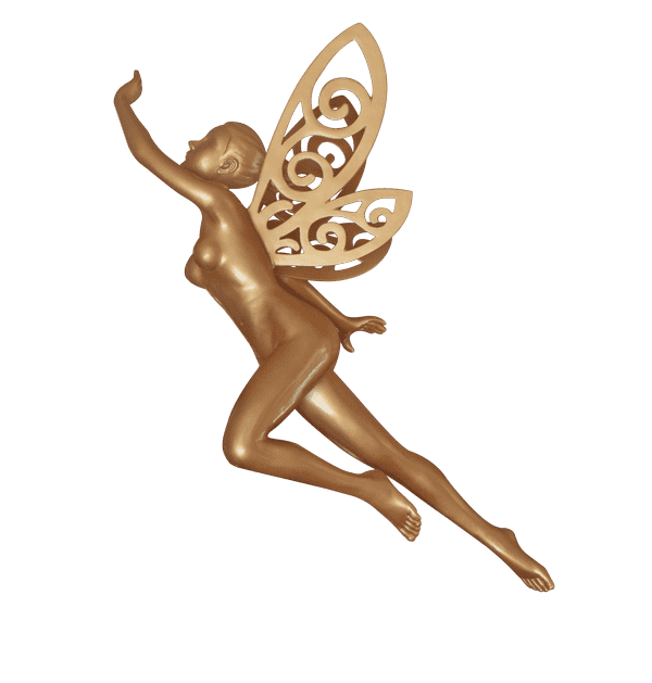 Fairy Golden - LM Treasures Life Size Statues & Prop Rental