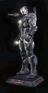 Iron Man War Machine Life Size Statue From Captain America: Civil War - LM Treasures Life Size Statues & Prop Rental