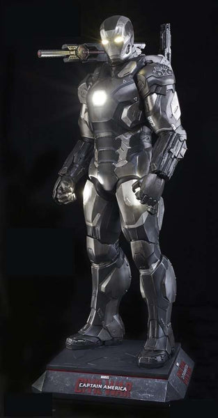 Iron Man War Machine Life Size Statue From Captain America: Civil War - LM Treasures
