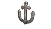 Pirate Prop Anchor #1 Statue Resin Nautical Decor - LM Treasures Life Size Statues & Prop Rental
