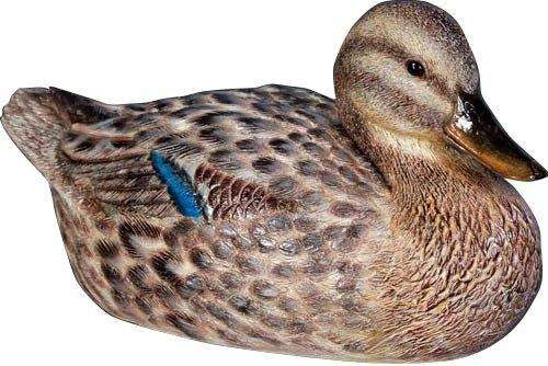 Bird Duck Mallard Female Animal Prop Life Size Resin Statue - LM Treasures Life Size Statues & Prop Rental