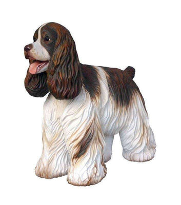 Dog Cocker Spaniel Animal Prop Life Size Deecor  Resin Statue - LM Treasures Life Size Statues & Prop Rental